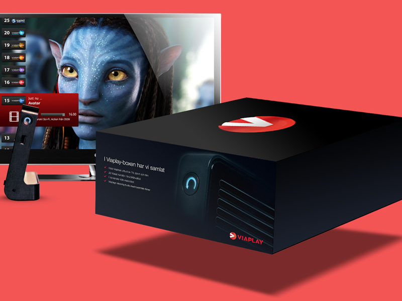 Viaplay Box Branding