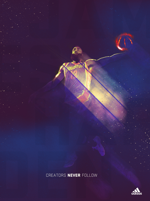 James Harden Poster Design