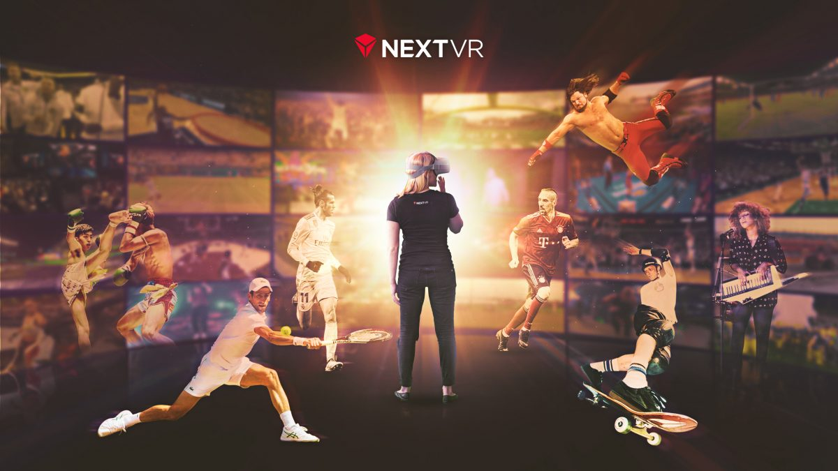 NextVR virtual reality graphic