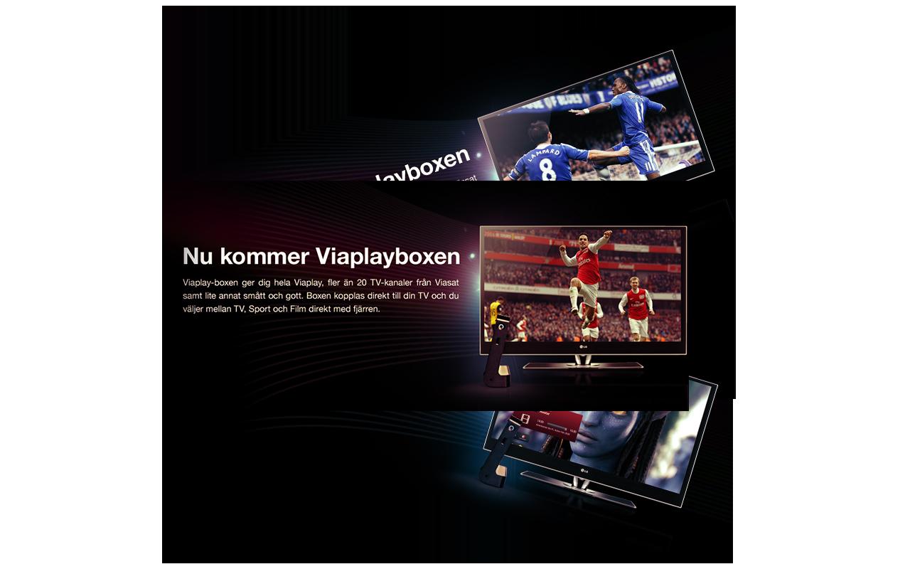 Viaplay Banner design