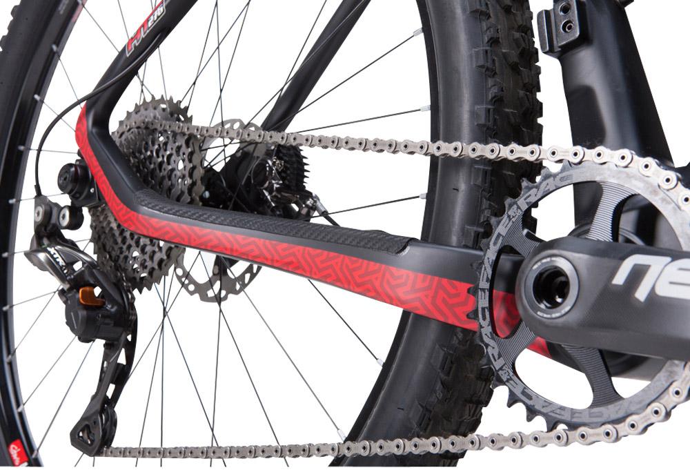 Detail shot of ellsworth enlightenment bike graphics