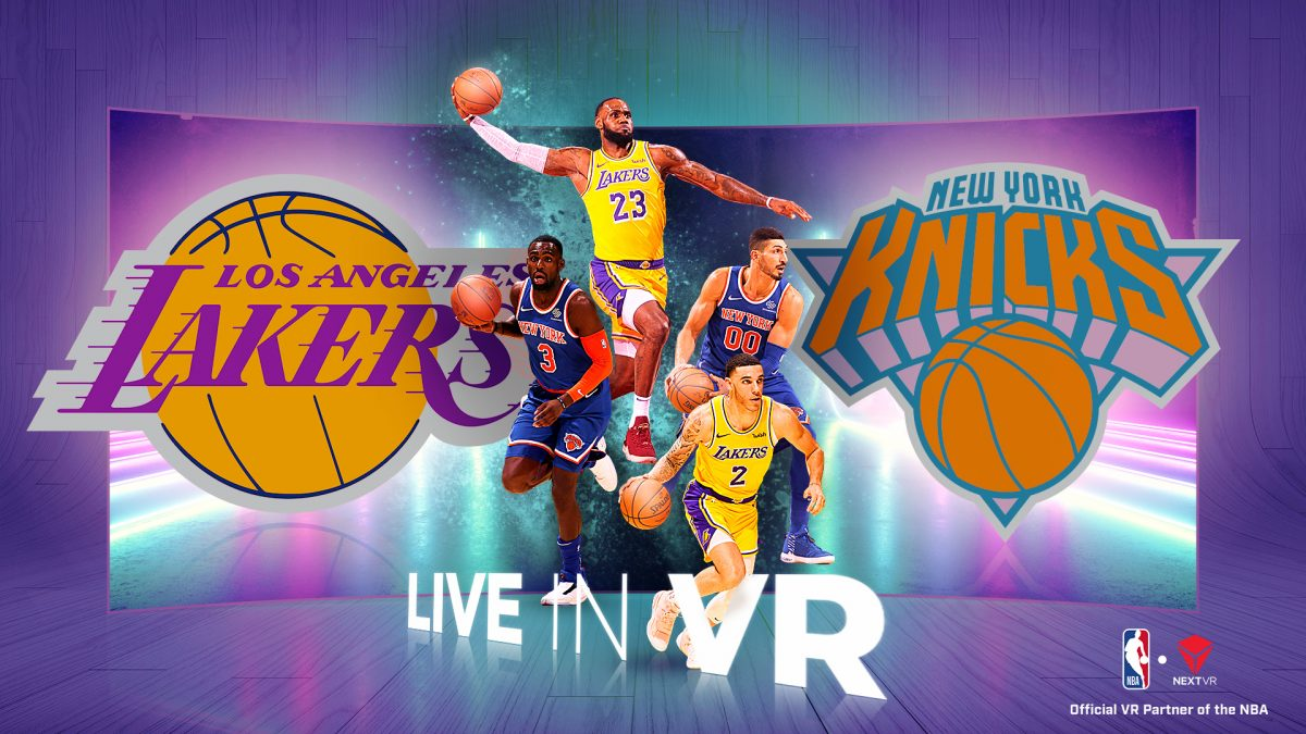 NBA in Virtual Reality Design